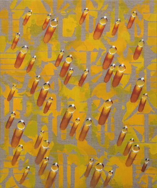 KIM TschangYeul_Recurrence SP201501_Acrylic&Oil on Canvas_55x46cm_2013