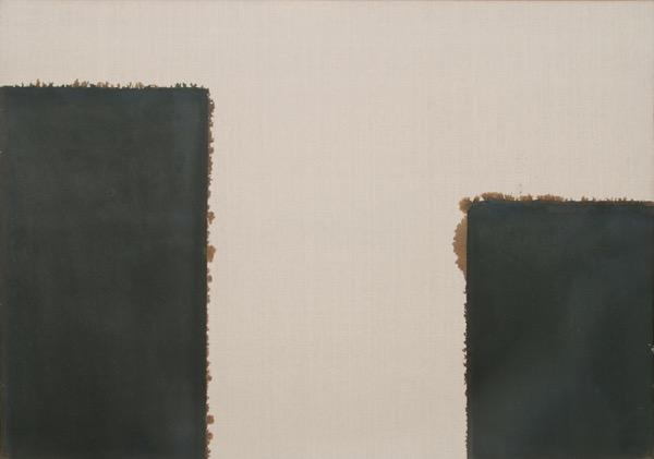 Burnt Umber 93-82 / Oil on Linen / 112 x 162 cm / 1993