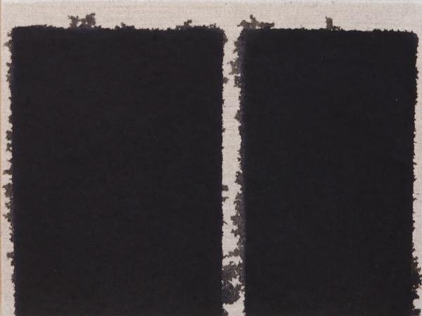 Burnt Umber / Oil on Linen / 24 x 32 cm / 1995