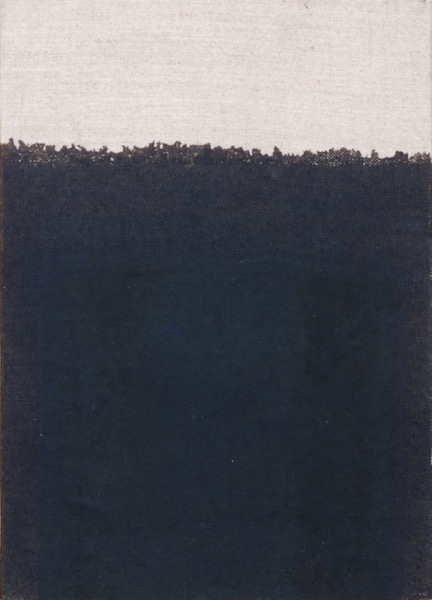 Burnt Umber / Oil on Linen / 25 x 18 cm / 1994