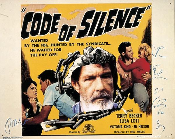 NamJune PAIK_Code of Silence_Mixed Media_70x56cm_1994