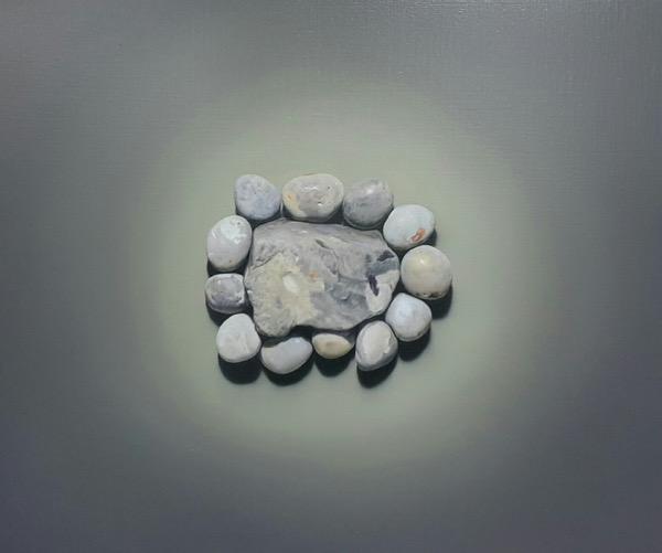 영원을 꿈꾸다 / Oil on Canvas / 45.4 x 53 cm / 2018