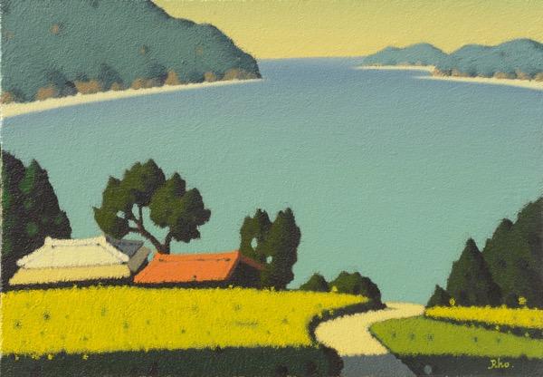 해변마을 / Oil on Canvas / 50 x 72.8 cm / 2013