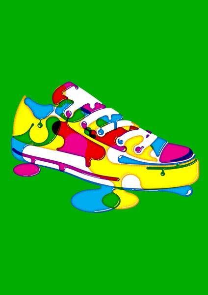 Sneaker / Gicleee Print / 60 x 42 cm / 2009