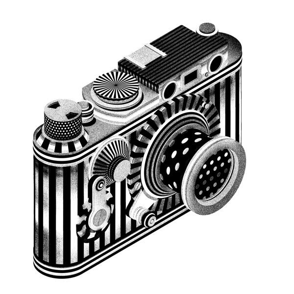 Leika / Screen Print / 100 x 100 cm / 2017