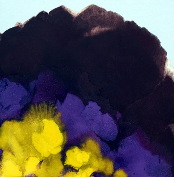 Symphony of the Spirit, Pigment & Oil on Canvas, 110x110cm, 2017