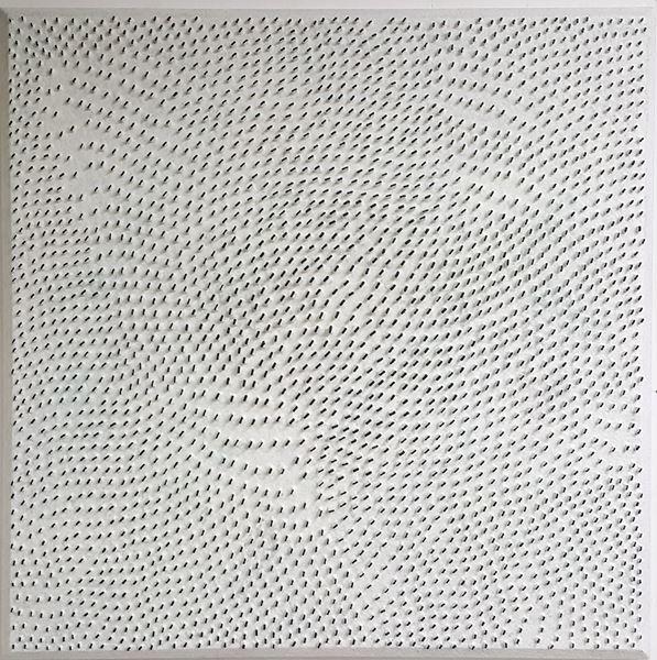 Line, Acrylic on Canvas, 90x90cm, 2017