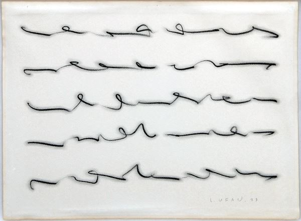 From Line, Drawing on paper, 56x76cm, 1977