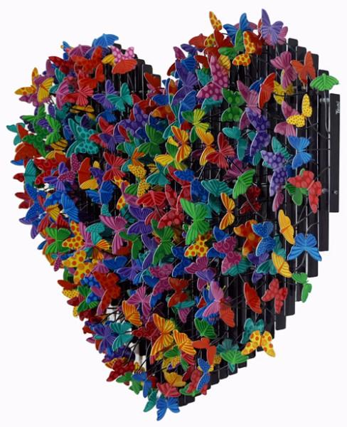 Free Love 3D_Acrylic on Steel_95x95cm_2016