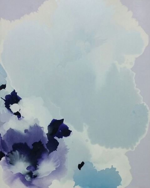 Symphony of the Spirit, Pigment & Oil on Canvas, 162x130cm, 2016