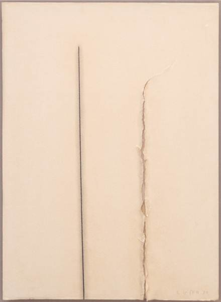 Ufan Lee_Correspondence_ 75 x 55 cm_ Drawing_1973