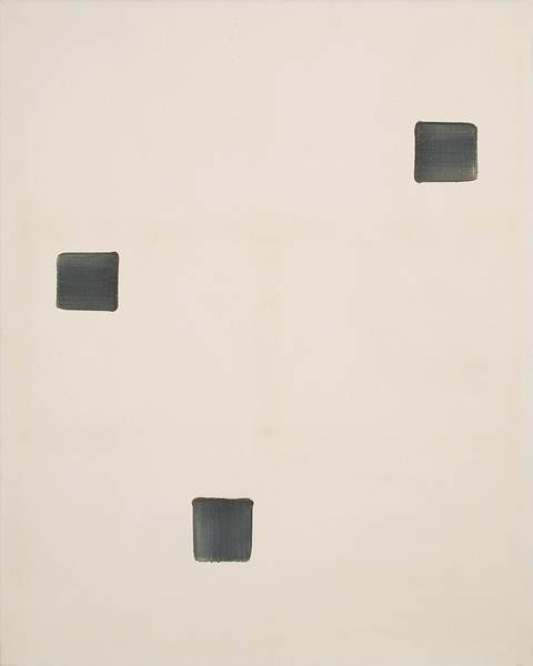 Ufan Lee_Correspondence_228 x 182cm_Oil on Canvas_1996