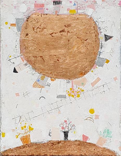 J행성-1, 6호, Oil on canvas, 2016