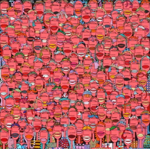 군중2015-25_Acrylic on Canvas_80.3x80.3cm_2014