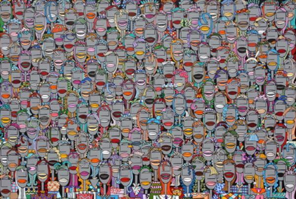 군중2015-25_Acrylic on Canvas_80.3x116.8cm_2014