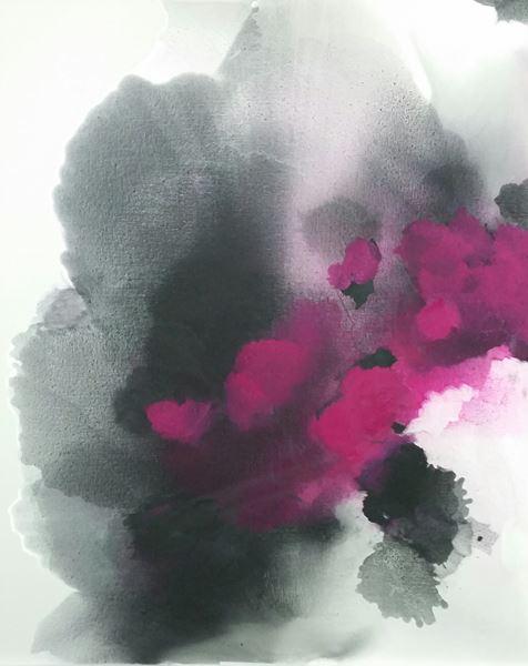 Symphony of the Spirit 1, Pigment, Oil on Canvas, 162x130cm, 2015