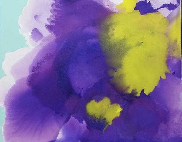 Symphony of the Spirit, Pigment, Oil on Canvas, 130x162cm, 2015