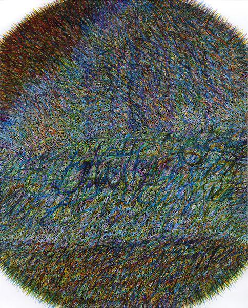 Mud Flat_Fill_3, mixed media, 162.1x130.3cm, 2015