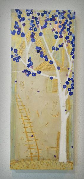 보라꽃향기, 20x50cm, 2015