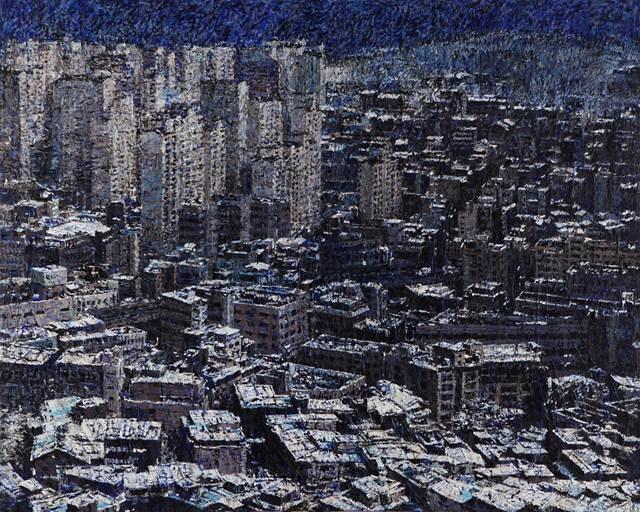 송지연_지상위에 서다_Acrylic on canvas_131 x 162cm_2011
