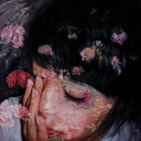 01.Hye jin Kim_Lucid dream Insane lullaby_80x80cm_Oil on canvas_2011