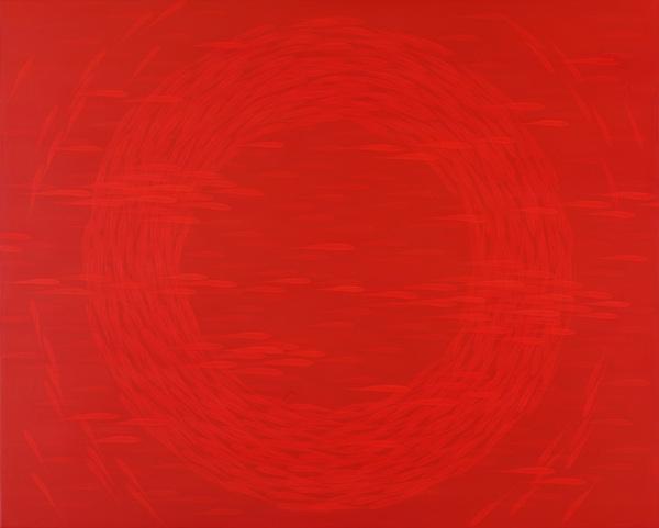 삶-Lifish, Mixed Media, 73x91cm, 2012