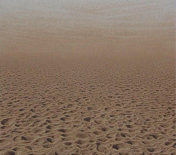 KIM ChangYoung_From Where to Where 0509-E_Oil on Sand & Canvas_122x136cm_2006