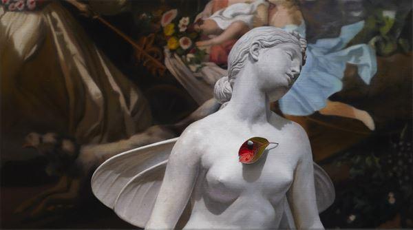 Dream the Eternity Oil on canvas, 29.5x53.4cm, 2014