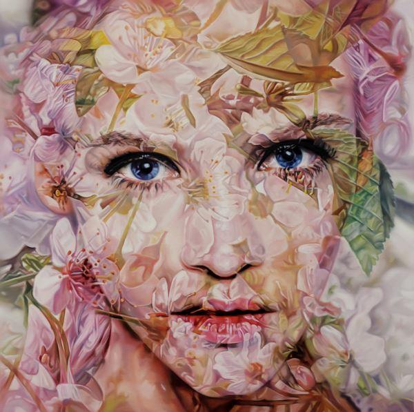 Lucid dream - Little girl, Oil on canvas, 130.3x130.3cm, 2013