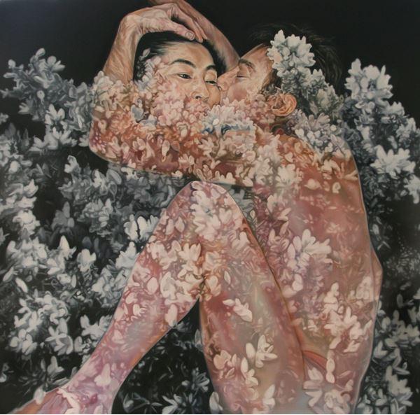 Lucid dream - Imagine, Oil on canvas, 130.3x130.3cm 2014