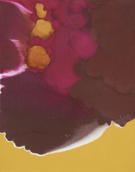 symphony of the spirit, Pigment & Oil on Canvas, 91x73cm, 2014