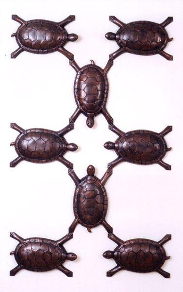 Turtle Cast Copper, E.D of 8, 117x71x11.5cm, 1999