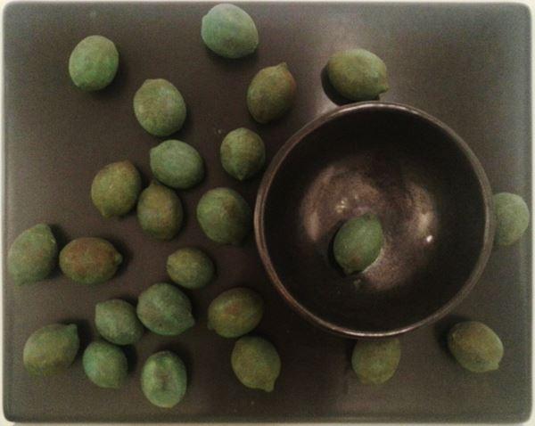 Scattered Lemons-Table Top, 65x81cm, 1993