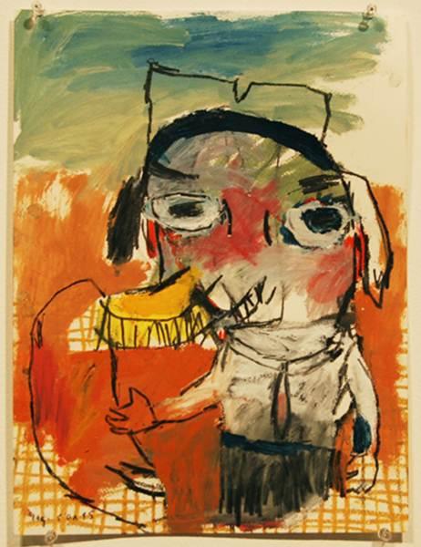 Starsky Brines_Yes, it is me_Oil on Paper_40x30cm_2009