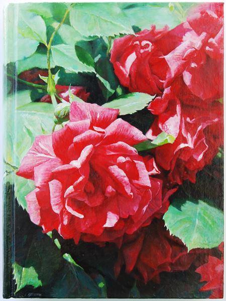책(The Book)4, oil on book, 25x18cm, 2013