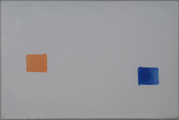 이우환, Correspondence, Drawing, 51 x 76cm, 1996