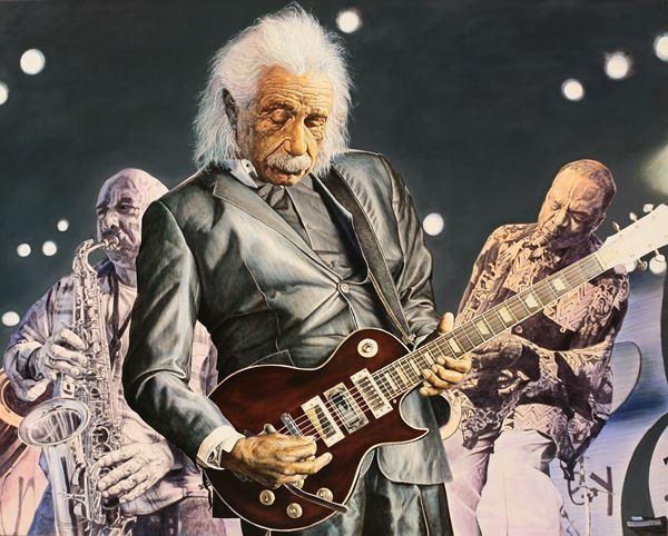 Kim, Kyong-Yeoul_Einsteins Jazz_162.2 x 130.3cm_Oil on Canvas_2013