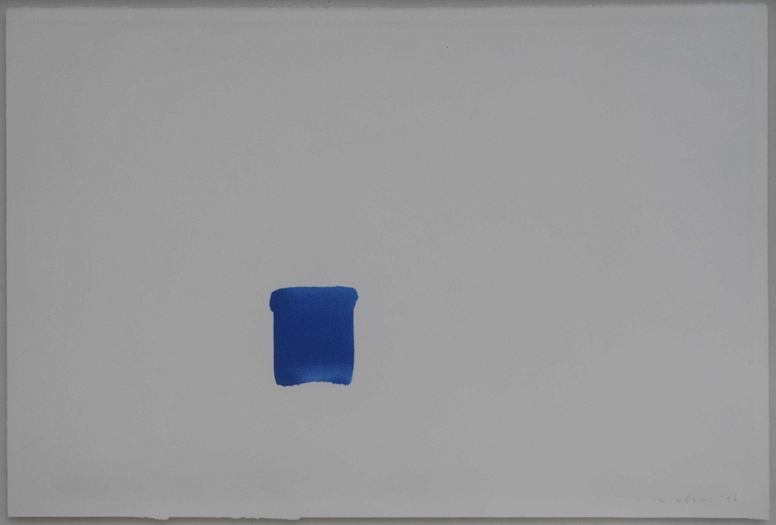 이우환, Correspondance, no.019, Drawing, 51x76, 1996