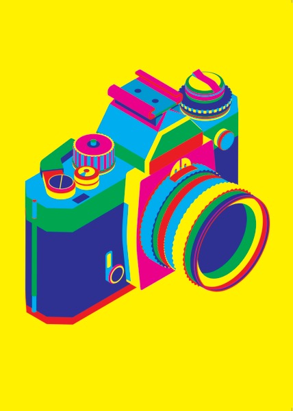 Steven Wilson_Nikon Camera_Screen Print_70x50cm_2016