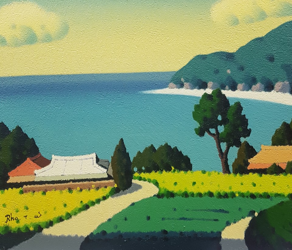 RHO TaeWoong_해변_Oil on Canvas_53x45.5cm_2013