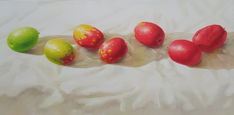 KIM KwangHan_향기가득_Oil on Canvas_20x40cm_2019_120만원