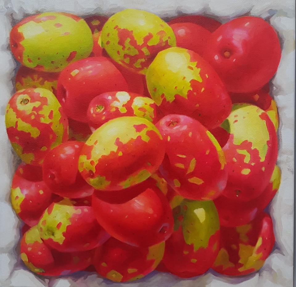 KIM KwangHan_향기가득_Oil on Canvas_25x25cm_2019_100만원