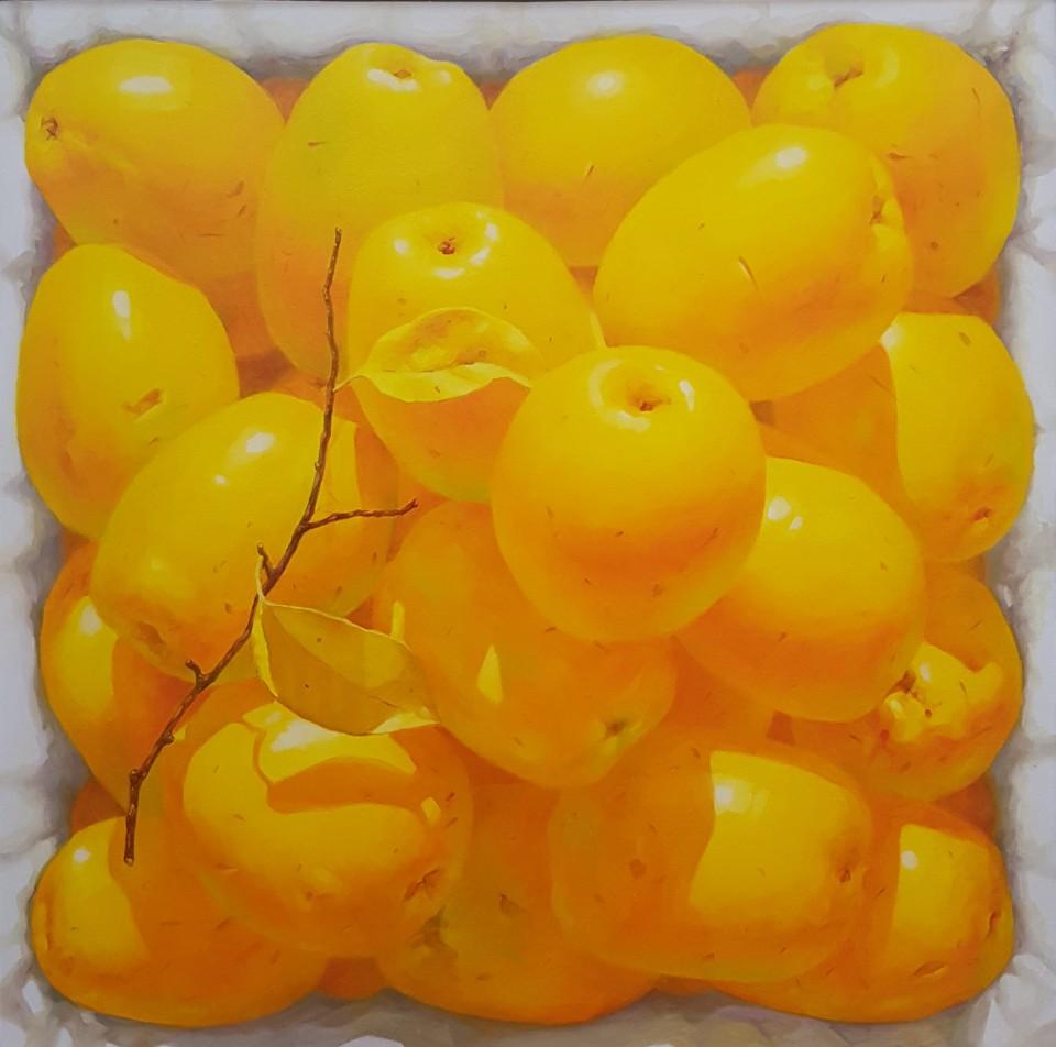KIM KwangHan_향기가득_Oil on Canvas_45x45cm_2019_200만원