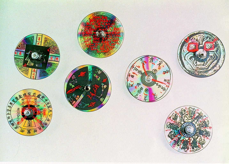 NamJune PAIK_NJP at 1800 RPMs_Mixed Media_Variable Size_1992