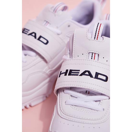 헤드(HEAD) 남녀공용 스크래퍼 벨크로 레트로 키높이 어글리슈즈_KF4DX18808WHX