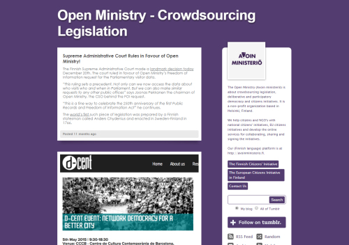 openministry