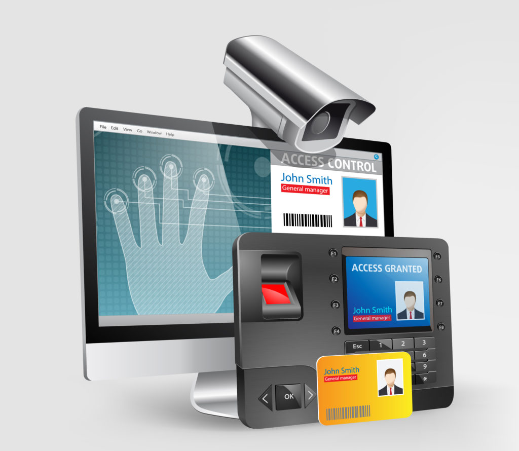 Access control system - biometric fingerprint