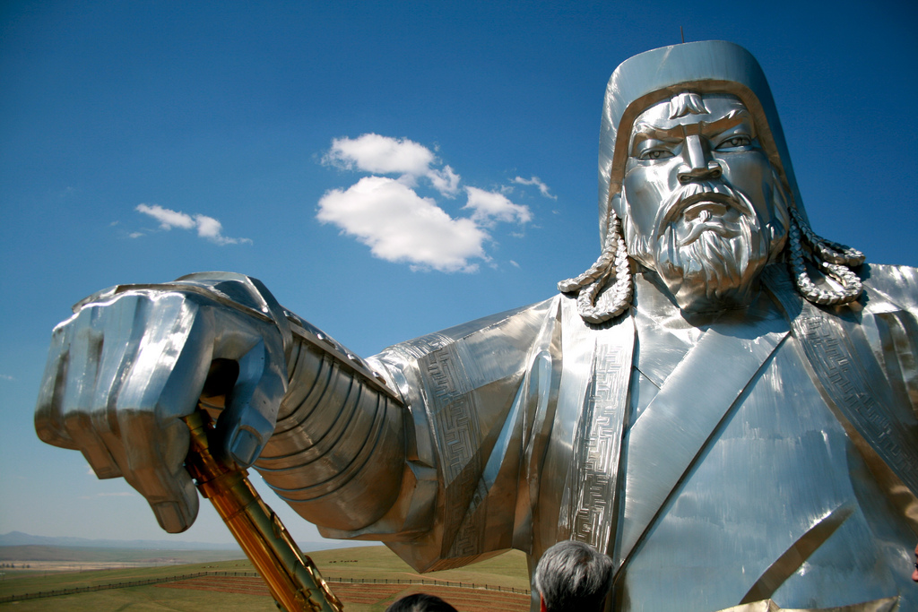 Genghis Khan. Source: Flickr https://flic.kr/p/881CvH