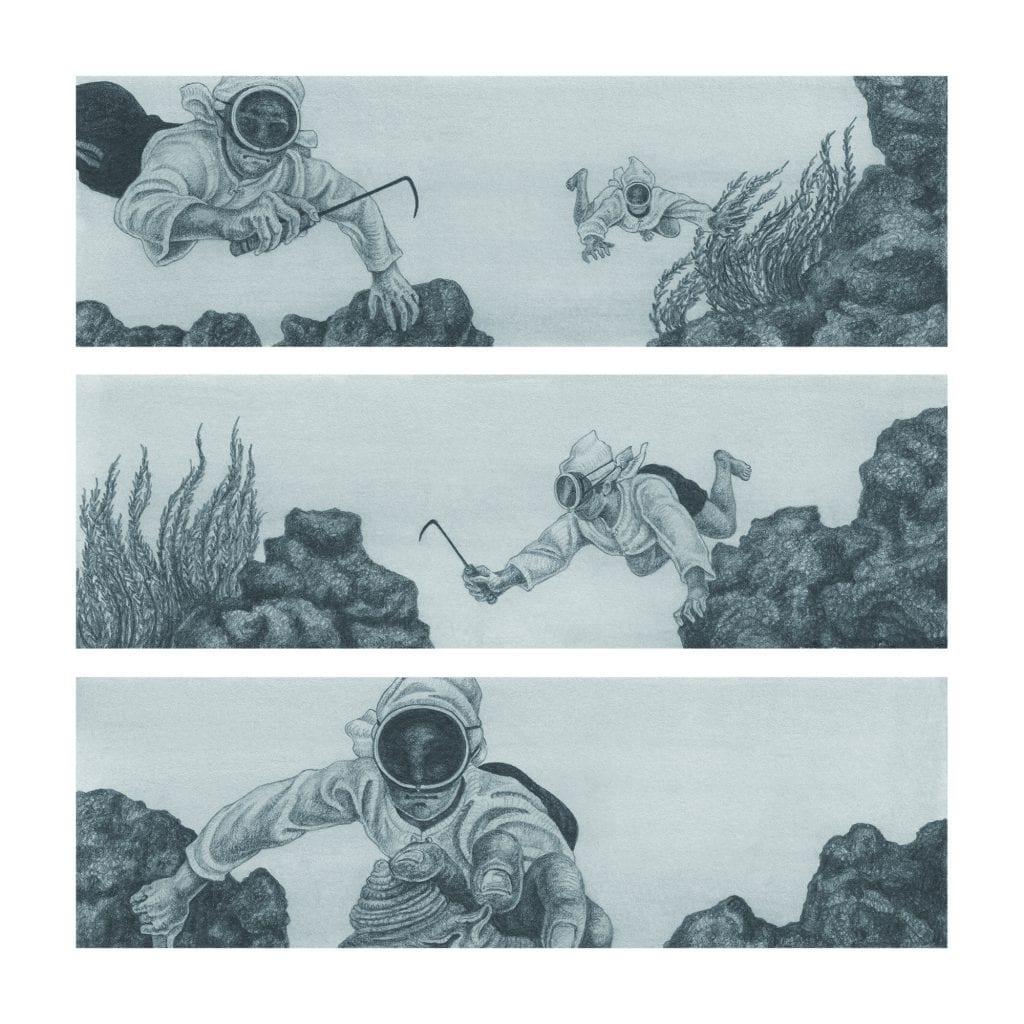 Diver, 해녀 — 현아선 5
