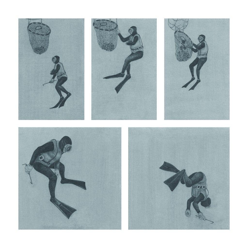 Diver, 해녀 — 현아선 3